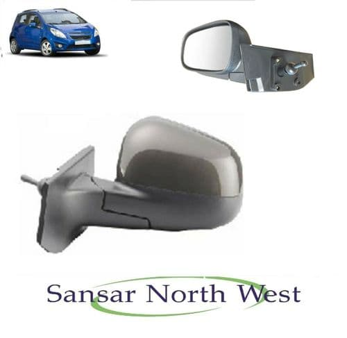 Chevrolet Spark Drivers Front Door Mirror Manual O/S RIGHT-2010 to 2012 Models